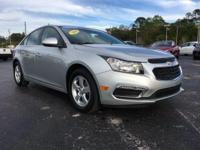 Certified. 2016 Chevrolet Cruze Limited 1LT FWD 6-Speed