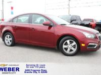 Recent Arrival! Maroon Chevrolet Cruze Limited  38/26
