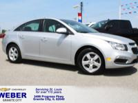 Recent Arrival! Silver Chevrolet Cruze Limited