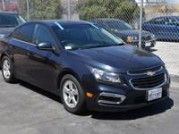 Clean CARFAX. 2016 Chevrolet Cruze Limited 1LT FWD