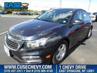 Look at this 2016 Chevrolet Cruze Limited LT. Its