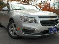 2016 Chevrolet Cruze Limited, Silver Ice Metallic, One