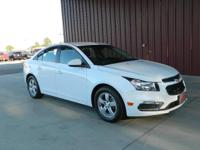 2016 CRUZE LIMITED 1LT SEDAN, CARFAX 1-OWNER, LOW