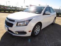 Options:  2016 Chevrolet Cruze Limited Sedan