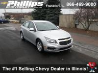 Options:  2016 Chevrolet Cruze Limited 1Lt Auto|Silver
