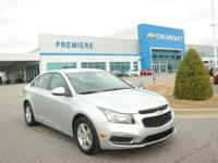 Options:  2016 Chevrolet Cruze Limited Lt|Silver/|V4