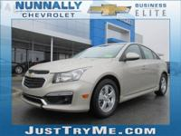 The Cruze Limited gives you great fuel economy and a