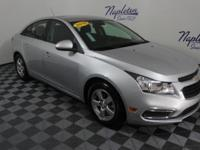2016 Chevrolet Cruze Limited Silver Clean CARFAX.KBB
