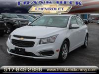 Options:  2016 Chevrolet Cruze Limited 1Lt|1Lt Auto 4Dr
