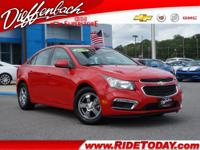 *CLEAN AUTOCHECK* and *ONE OWNER*. Cruze Limited 1LT,