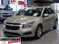 2016+Chevrolet+Cruze+Limited+1LT+In+Champagne+Silver+Me