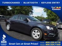 Used 2016 Chevrolet Cruze Limited,  DESIRABLE FEATURES: