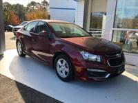 Options:  2016 Chevrolet Cruze Limited 1Lt Manual|1Lt
