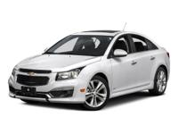 This beautiful 2016 Chevrolet Cruze Limited Stock