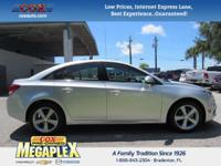 This 2016 Chevrolet Cruze Limited 2LT in Silver Ice