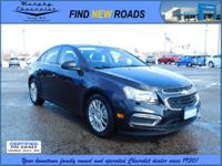 Don't miss out on this 2016 Chevrolet Cruze Limited ECO