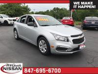 New Price! 2016 Chevrolet Cruze Limited LS Clean