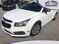 One owner, GM Certified 2016 Chevrolet Cruze LS in