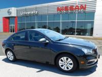 2016 Chevrolet Cruze Limited LS, Automatic Electronic