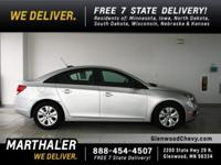 2016 Chevrolet Cruze Limited LS Preferred Equipment
