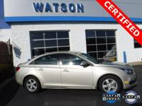 CLEAN CARFAX / 1 OWNER, GM CERTIFIED, BLUETOOTH, ALLOY