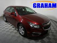 New Price! Clean CARFAX. Siren Red Tintcoat FWD ECOTEC