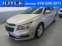 2016 Chevrolet Cruze Limited 1LT Clean CARFAX. Vehicle