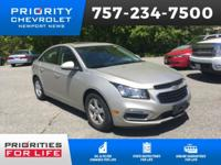 CARFAX One-Owner. Clean CARFAX. Certified. Chevrolet