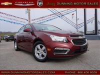 Red Tintcoat 2016 Chevrolet Cruze Limited 1LT FWD