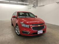 Red 2016 Chevrolet Cruze Limited LTZ FWD 6-Speed