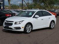 Clean CARFAX. CARFAX One-Owner.  2016 Chevrolet Cruze