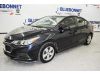 Purchase this blue ray metallic 2016 Chevrolet Cruze LS