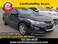 CARFAX One-Owner. Clean CARFAX. 2016 Chevrolet Cruze LS