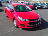 Red 2016 Chevrolet Cruze LS FWD 6-Speed Automatic 1.4L