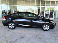 CARFAX One-Owner. Clean CARFAX.Black Metallic Cruze