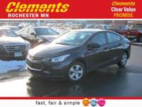 Options:  2016 Chevrolet Cruze Ls|Front Wheel