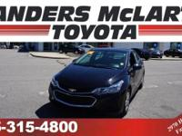CarFax 1-Owner, This 2016 Chevrolet Cruze will sell