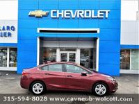 Clean CARFAX. CARFAX One-Owner. Red 2016 Chevrolet