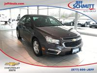 Silver 2016 Chevrolet Cruze Limited 1LT Odometer is