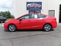 Take a joyride in our Red Hot 2016 Chevrolet Cruze LT!