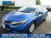 Look at this 2016 Chevrolet Cruze LT. Its Automatic