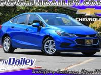 Options:  2016 Chevrolet Cruze Lt|Blue|16 Aluminum