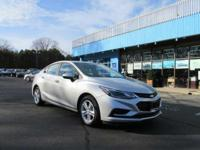 This 2016 Chevrolet Cruze 4dr Sdn Auto LT is offered to