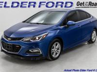 Recent Arrival! Clean CARFAX. 2016 Chevrolet Cruze LT