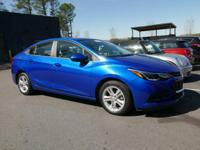 **2016 CHEVY CRUZE LT**VERY, VERY, LOW MILES!!**FACTORY