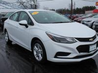 Cruze LT Certified. AUTOMATIC, PREMIUM SOUND SYSTEM,