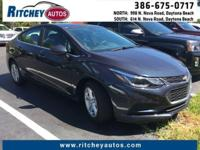 CERTIFIED PRE-OWNED CHEVY CRUZE LT**CLEAN CAR FAX**ONE