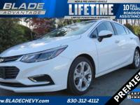 Premier, 40/30 Highway/City MPG Heated Leather Seats,