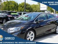 2016 Chevrolet Cruze, GM Certified, 100K Warranty,