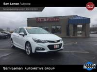 The perfect used car! This one owner 2016 Chevrolet in